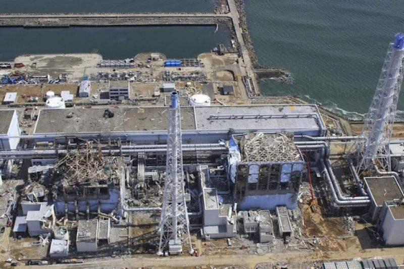 Fukushima plant leaking toxic water into Pacific