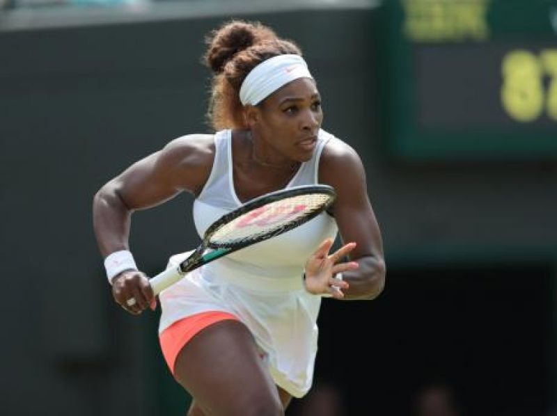 Another step up in the career records for Serena Williams