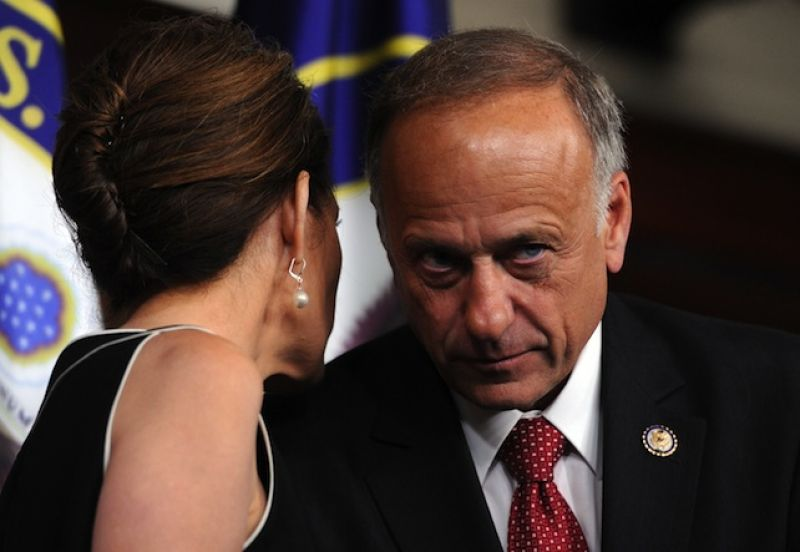 Steve King defends drug mule claim